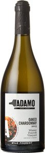 Adamo Wild Ferment Oaked Chardonnay Wismer Foxcroft Vineyard 2015, Twenty Mile Bench Bottle