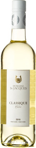 Domaine St Jacques Classique Blanc 2015 Bottle