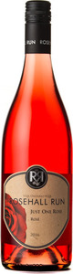 Rosehall Run Just One Rose Rose 2016, VQA Ontario Bottle