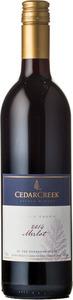 CedarCreek Merlot 2014, BC VQA Okanagan Valley Bottle