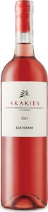 Kir Yianni Akakies Rosé 2016, Ac Amyndeon Bottle