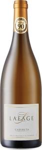 Domaine Lafage Cadireta Blanc 2015, Igp Côtes Catalanes Bottle