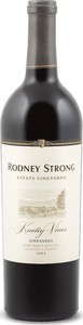Rodney Strong Knotty Vines Zinfandel 2014, Northern Sonoma Bottle