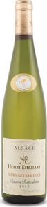 Henri Ehrhart Gewurztraminer 2015, Ac Alsace Bottle