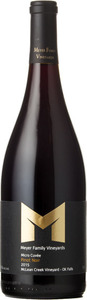 Meyer Micro Cuvee Pinot Noir Mclean Creek Vineyard 2014, VQA Okanagan Valley Bottle