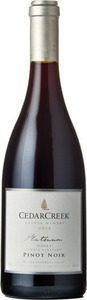 CedarCreek Platinum Block 2 Pinot Noir 2014, BC VQA Okanagan Valley Bottle