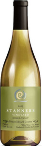 Stanners Vineyard Chardonnay 2015, Prince Edward County Bottle