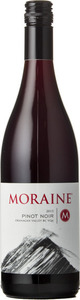 Moraine Winery Pinot Noir 2014, BC VQA Okanagan Valley Bottle
