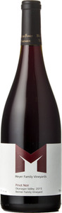Meyer Pinot Noir Reimer Family Vineyard 2014, Okanagan Valley Bottle