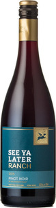 See Ya Later Ranch Pinot Noir 2013, BC VQA Okanagan Valley Bottle