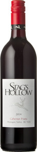 Stag's Hollow Cabernet Franc 2013, BC VQA Okanagan Valley Bottle