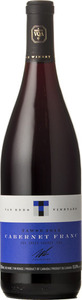 Tawse Van Bers Vineyard Cabernet Franc 2012, VQA Creek Shores, Niagara Peninsula Bottle