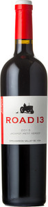 Road 13 Jackpot Petit Verdot 2012 Bottle