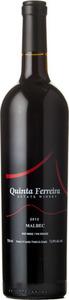 Quinta Ferreira Malbec 2012, Okanagan Valley Bottle
