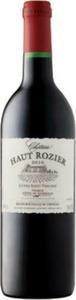 Château Haut Rozier Cuvée Saint Vincent 2010, Ac Côtes De Bordeaux Bottle