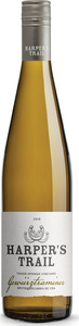 Harper's Trail Gewurztraminer 2016, BC VQA Okanagan Valley Bottle