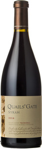 Quails' Gate The Boswell Syrah 2014, Okanagan Valley Bottle