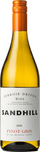 Sandhill Pinot Gris Terroir Driven Wine 2016, Okanagan Valley Bottle