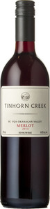 Tinhorn Creek Merlot 2014, Okanagan Valley Bottle
