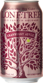 Lonetree Cranberry Apple Dry Cider, Okanagan Valley (355ml) Bottle