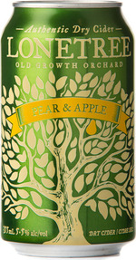 Lonetree Pear & Apple Cider, Okanagan Valley (355ml) Bottle