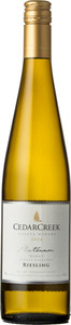 CedarCreek Platinum Riesling Block 3 2016, Okanagan Valley Bottle
