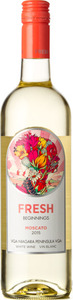 Fresh Beginnings Moscato 2016, Niagara Peninsula Bottle