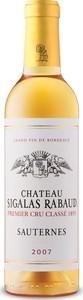 Château Sigalas Ribaud 2007, 1er Cru, Ac Sauternes (375ml) Bottle
