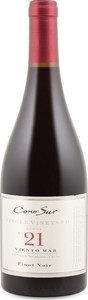 Cono Sur Single Vineyard Block No. 21 Viento Mar Pinot Noir 2015 Bottle