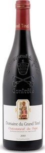 Domaine Du Grand Tinel Châteauneuf Du Pape 2012 Bottle