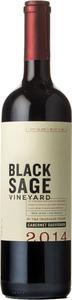 Black Sage Cabernet Sauvignon 2014, Okanagan Valley Bottle