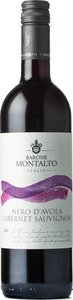 Barone Montalto Nero D'avola Cabernet Sauvignon 2016 Bottle