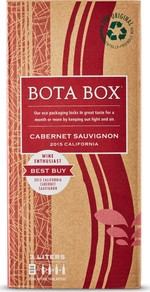 Bota Box Cabernet Sauvignon 2016 (3000ml) Bottle
