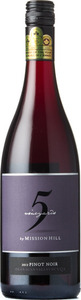 Mission Hill 5 Vineyards Pinot Noir 2015, VQA Okanagan Valley Bottle