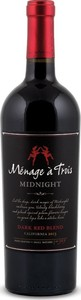 Ménage à Trois Midnight 2015, Napa Valley Bottle