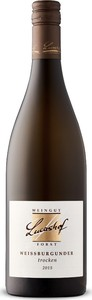 Lucashof Weissburgunder Pinot Blanc 2015, Qualitätswein Bottle
