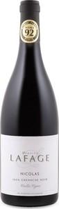 Domaine Lafage Vieilles Vignes Nicolas Grenache Noir 2015, Igp Côtes Catalanes Bottle