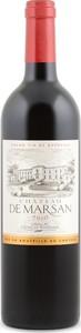 Château De Marsan 2014, Ac Côtes De Bordeaux   Cadillac Bottle