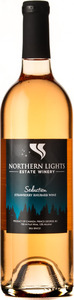 Northern Lights Seduction Strawberry Rhubarb Wine, BC VQA Okanagan Valley Bottle