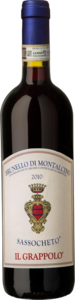 Il Grappolo Sassocheto Brunello Di Montalcino 2010 Bottle