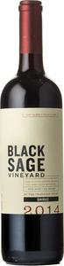 Black Sage Shiraz 2014, Okanagan Valley Bottle
