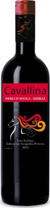 Cavallina Nero D' Avola Shiraz 2014, Sicily Igt Bottle