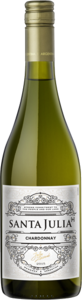 Santa Julia+ Chardonnay 2017 Bottle