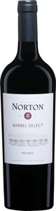 Norton Barrel Select Malbec 2015 Bottle