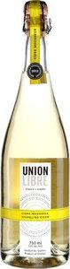Union Libre Cidre Mousseux 2014 Bottle