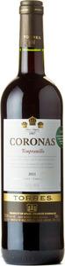 Miguel Torres Coronas Tempranillo 2014 Bottle