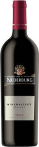 Nederburg Winemaster's Reserve Shiraz 2015, Western Cape Bottle