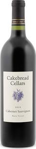 Cakebread Cellars Cabernet Sauvignon 2014, Napa Valley Bottle