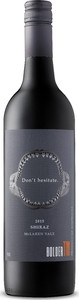 Don't Hesitate Shiraz 2015, Mclaren Vale Bottle