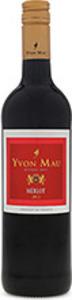 Yvon Mau Merlot 2016, Vin De Pays De L' Aude Bottle